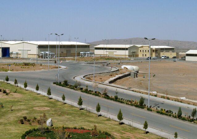 Vista da planta de enriquecimento de urânio de Natanz 250 km ao sul da capital iraniana Teerã (foto de arquivo)