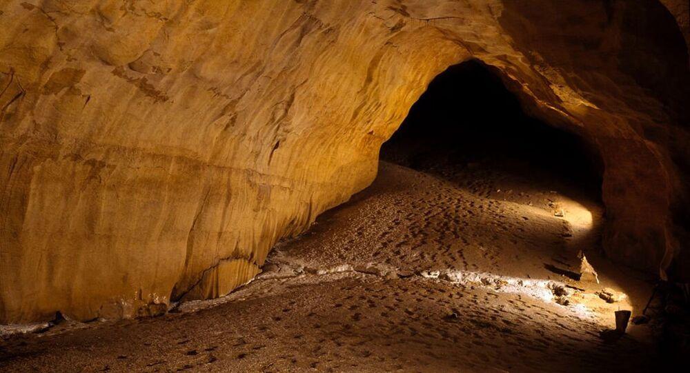 Galeria das Pegadas, na Espanha (imagem referencial)