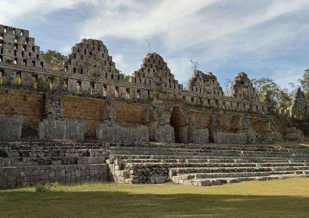 Ruínas maia em Iucatã, no México