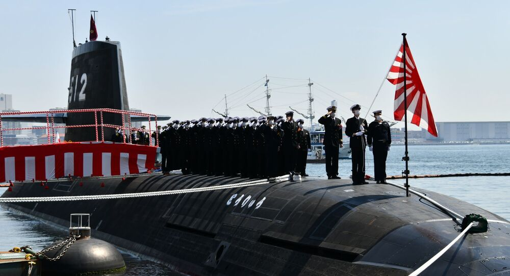 Cerimônia de comissionamento do submarino TORYU, da classe Soryu