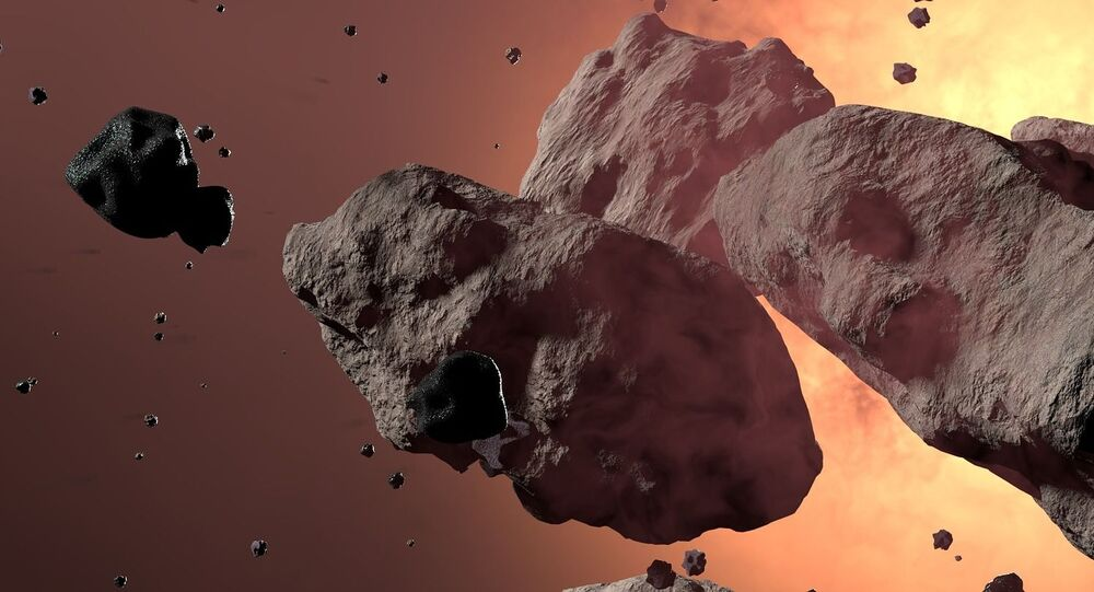 Asteroide (imagem ilustrativa)