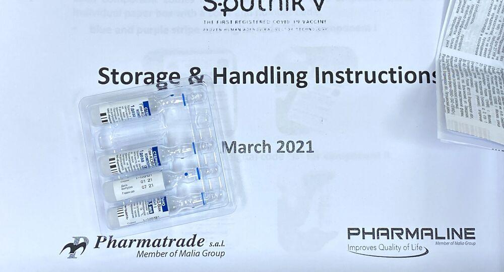 Instruções da vacina russa contra COVID-19, Sputnik V