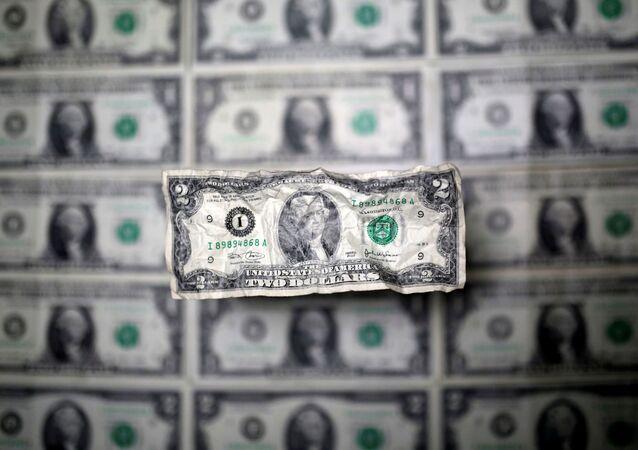 Nota de dólar norte-americano (foto de arquivo)