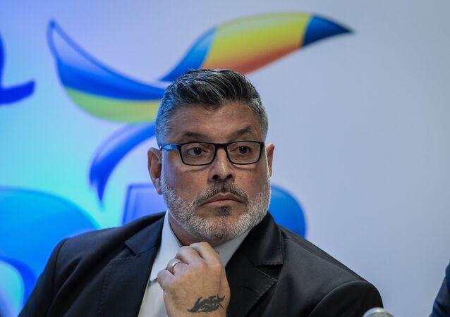 O deputado federal Alexandre Frota (PSDB-SP) durante evento do partido.