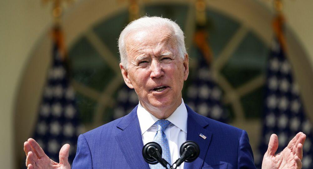 O presidente dos EUA, Joe Biden, anuncia ações de prevenção contra a violência armada, na Casa Branca, em Washington, no dia 8 de abril de 2021