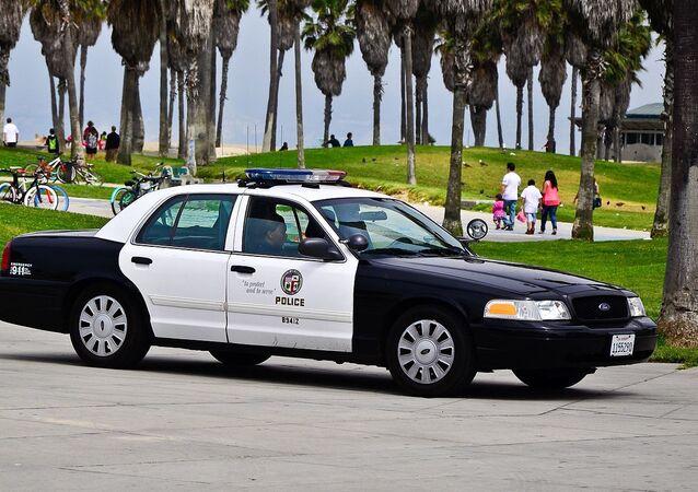 Viatura do Departamento de Polícia de Los Angeles