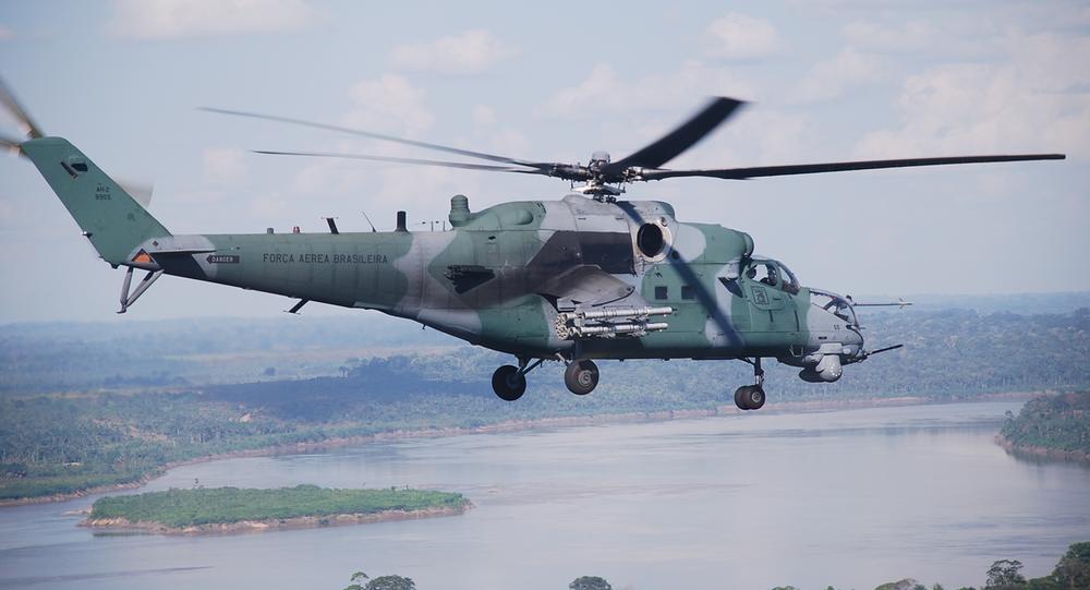 Helicóptero AH-2 Sabre da Força Aérea Brasileira
