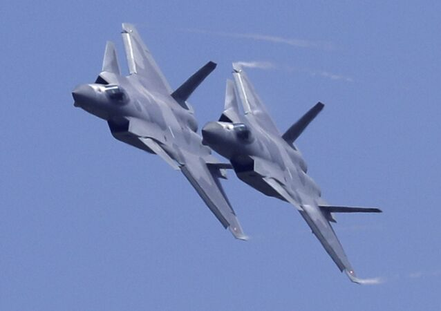 Caças J-20 da Força Aérea do Exército Popular de Libertação