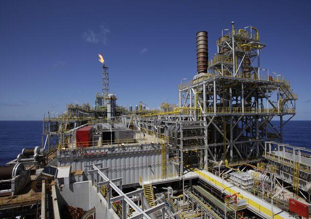 Plataforma da Petrobras na cidade de Angra dos Reis, no estado do Rio de Janeiro (arquivo)