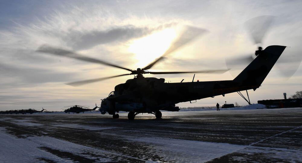 Helicóptero Mi-24P