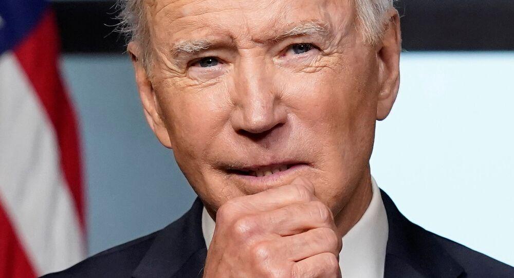 Presidente dos EUA, Joe Biden, apresenta plano de retirada de tropas do Afeganistão, na Casa Branca, EUA, 14 de abril de 2021