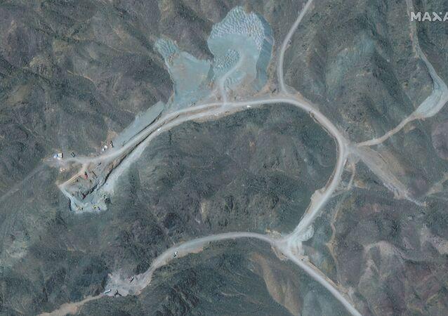 Usina de enriquecimento de urânio de Natanz, 250 quilômetros a sul de Teerã, capital do Irã, imagem de 12 de abril de 2021