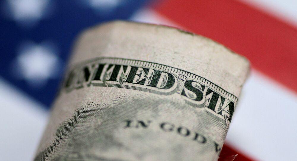 Nota de cinco dólares dos EUA em 1º de junho de 2017
