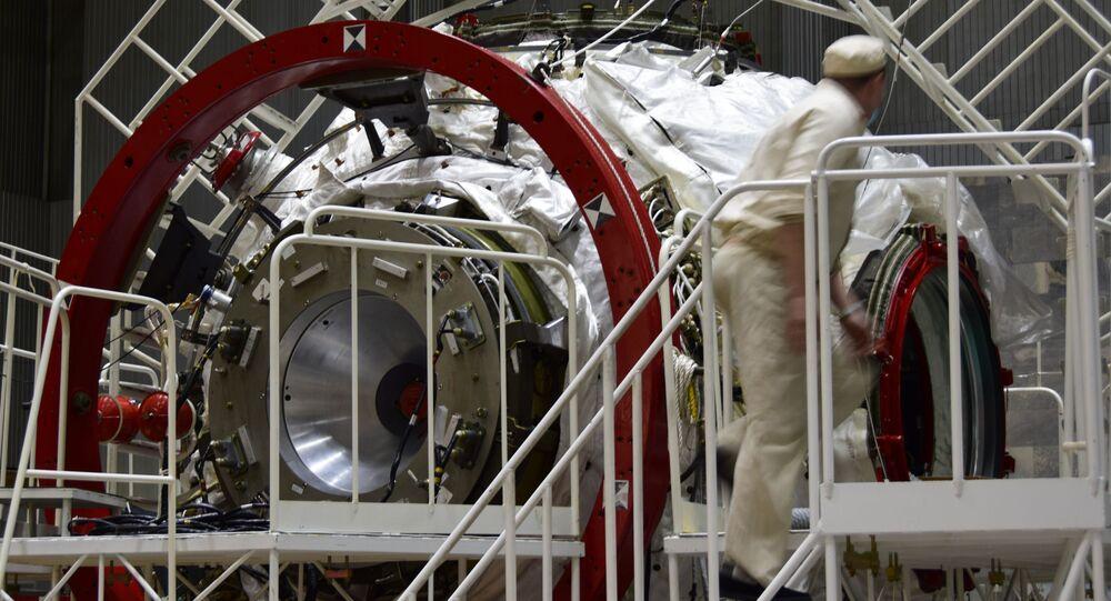 Primeiro módulo da futura Estação Orbital da Rússia