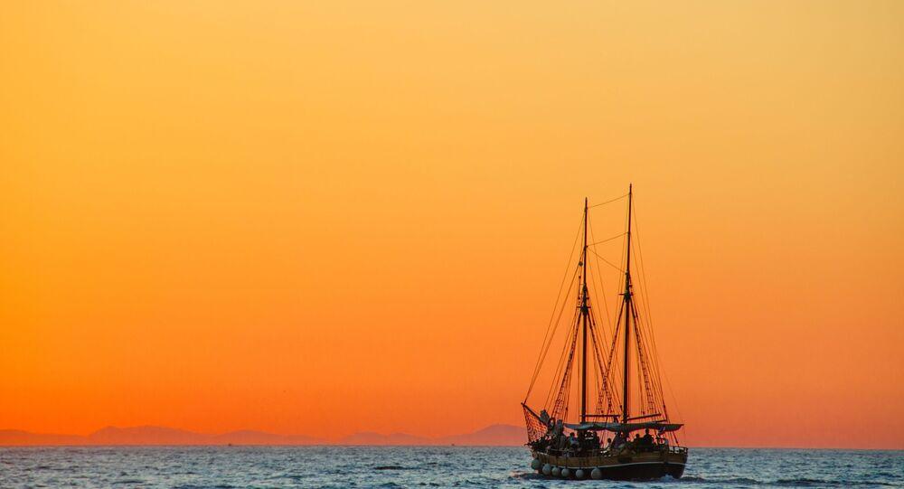 Navio no mar (imagem referencial)