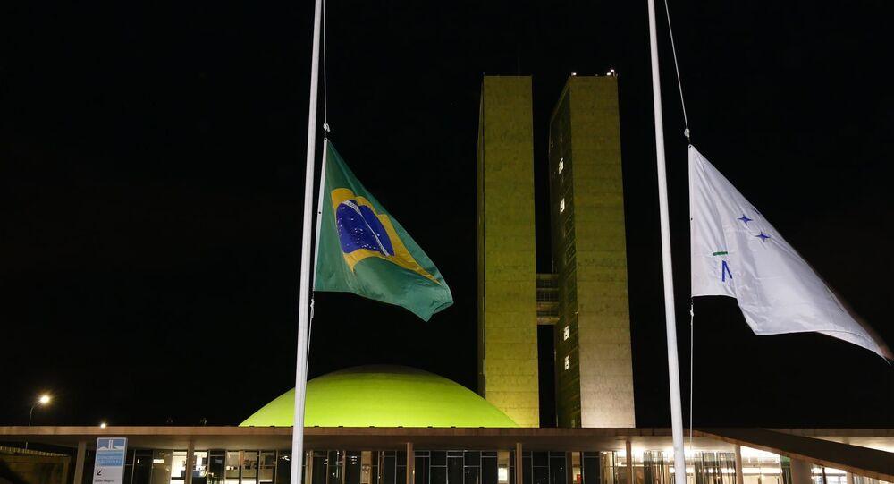 Luto oficial em Brasília, decretado pelo Senado Federal, após a morte do senador Major Olímpio (PSL-SP), em 18 de março de 2021, por complicações da COVID-19
