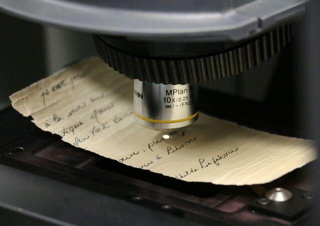 Análise da tinta por espectroscopia Raman