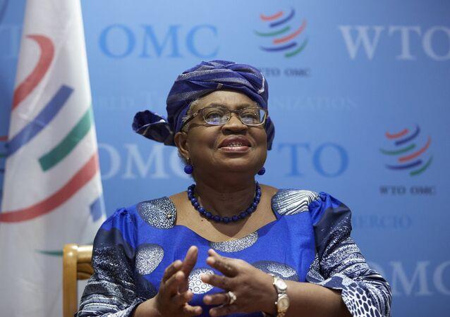 A diretora-geral da OMC, Ngozi Okonjo-Iweala