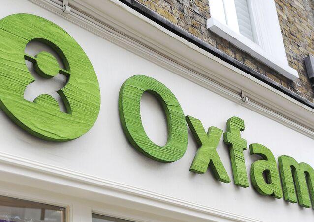 Fachada de um estabelecimento da Oxfam em Londres