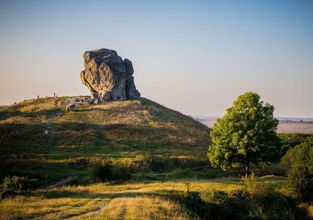 Montanha na Ucrânia