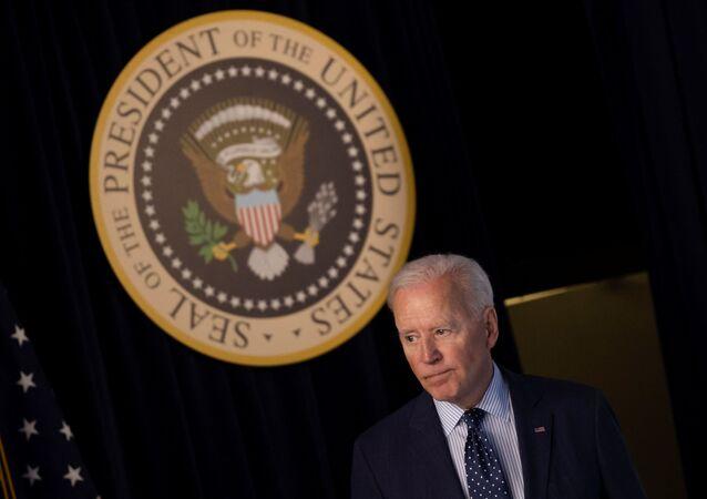 Joe Biden, presidente dos EUA, na Casa Branca em Washington, EUA, 2 de junho de 2021