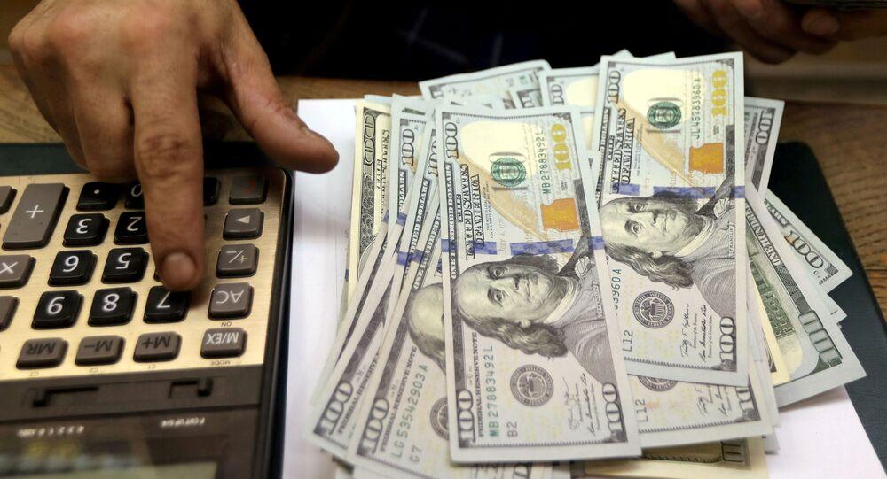 Notas de dólares (imagem referencial)