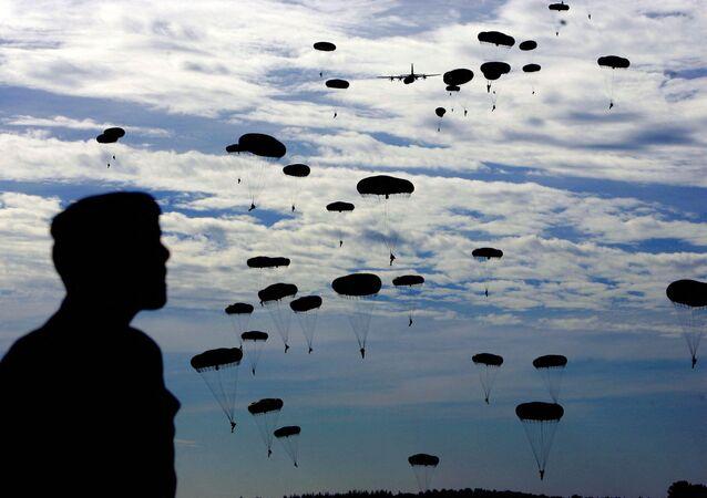 Paraquedistas britânicos