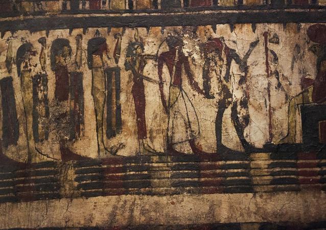 Papiro egípcio (imagem referencial)