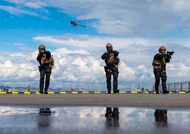 O drone Ghost pode fornecer diferentes vantagens às tropas terrestres