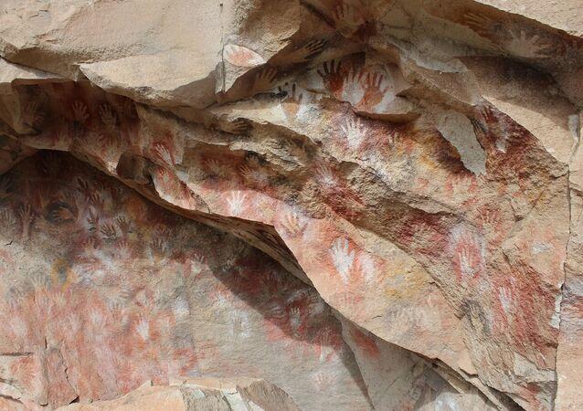 Arte rupestre (imagem referencial)