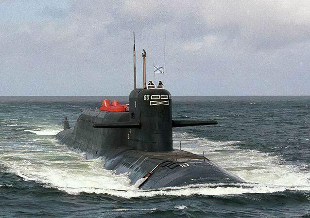 Submarino atômico K-407 Novomoskovsk