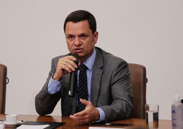 Ministro da Justiça e Segurança Pública, Anderson Torres em Brasília, 22 de julho de 2021