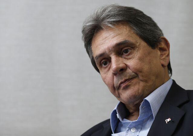 Ex-deputado Roberto Jefferson Monteiro Francisco, na sede do partido em Brasília