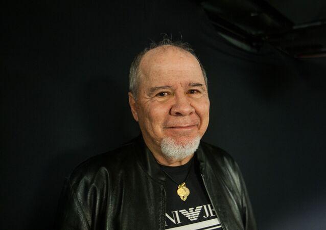 O publicitário baiano e marqueteiro político Duda Mendonça durante entrevista. Foto de arquivo