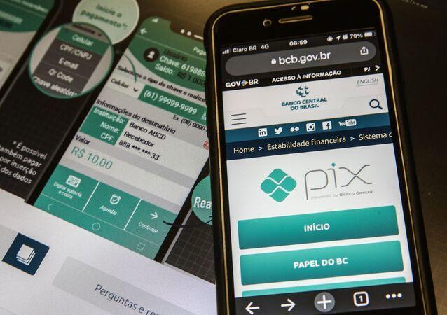 Pix é o pagamento instantâneo brasileiro. Foto de arquivo