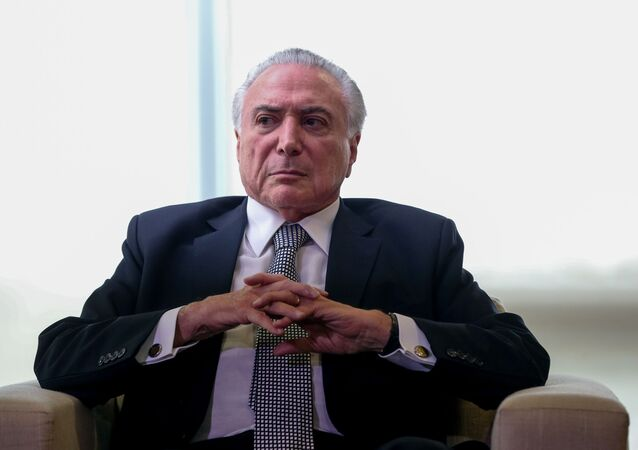Ex-presidente Michel Temer (MDB). Foto de arquivo