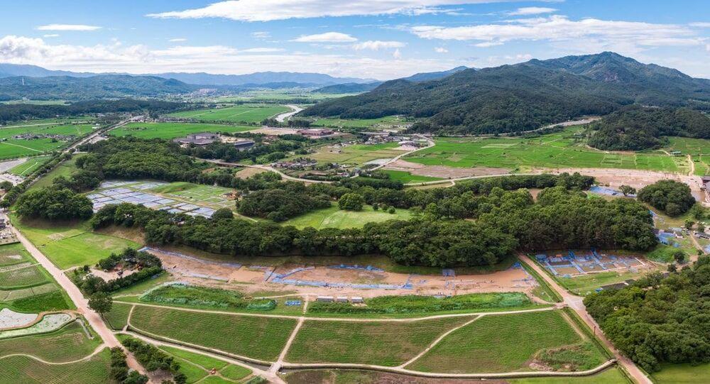 Sítio histórico de Wolseong na Coreia do Sul