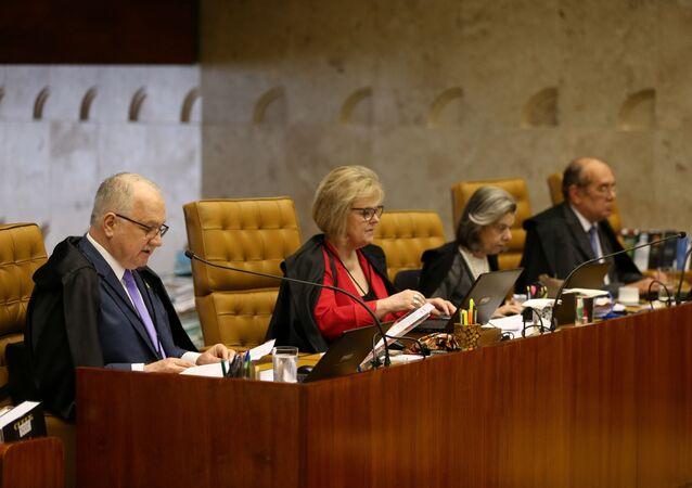 Sessão plenária do Supremo Tribunal Federal, em Brasília. Foto de arquivo