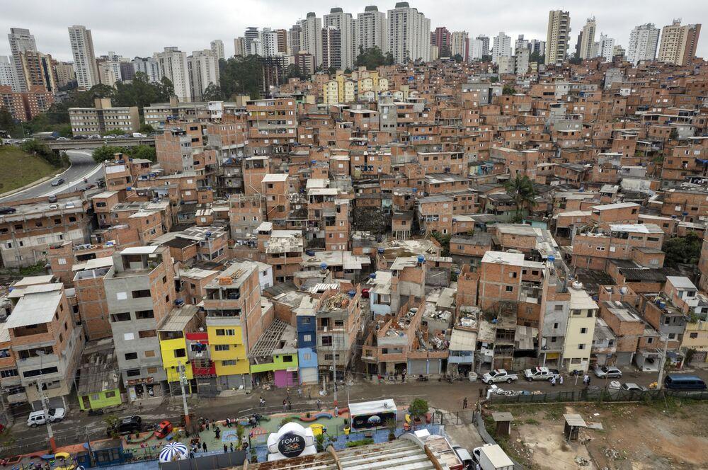 A favela de Paraisopolis, em São Paulo, é uma das maiores favelas do Brasil, e recentemente comemorou 100 anos de vida, em 16 de setembro de 2021