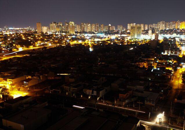 Apagão na zona sul de Ribeirão Preto, interior de São Paulo. Foto de arquivo