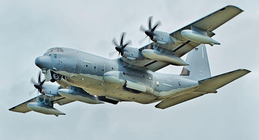 Avião de transporte MC-130J Commando II da Força Aérea dos EUA