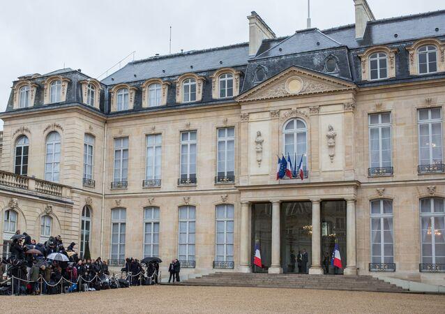 Palácio de Elysée  (imagem referencial)