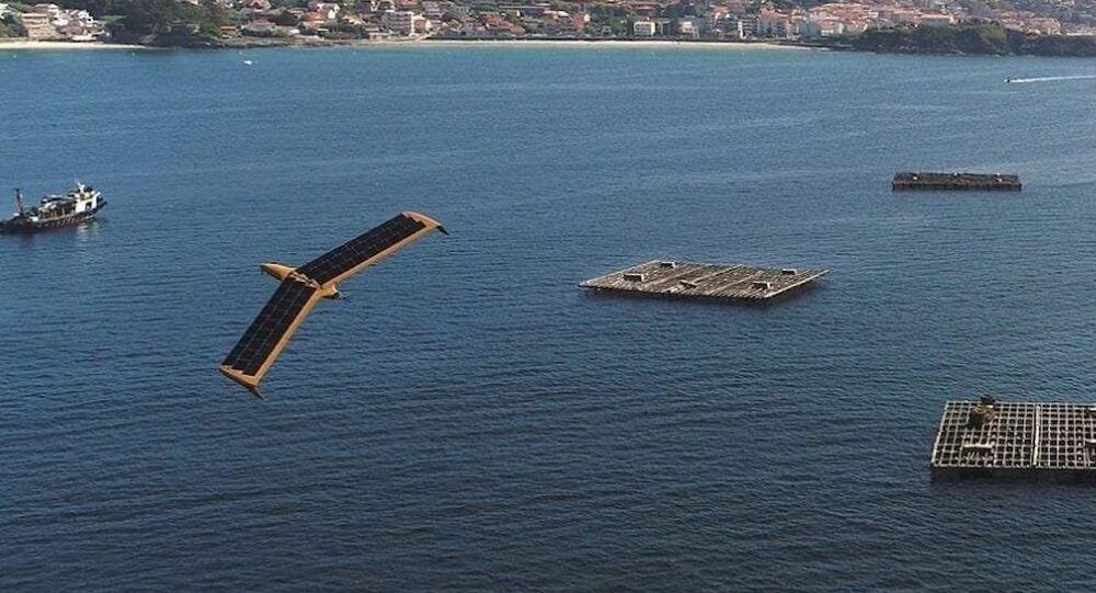 Drone Airfox voa durante exercício REP MUS 21
