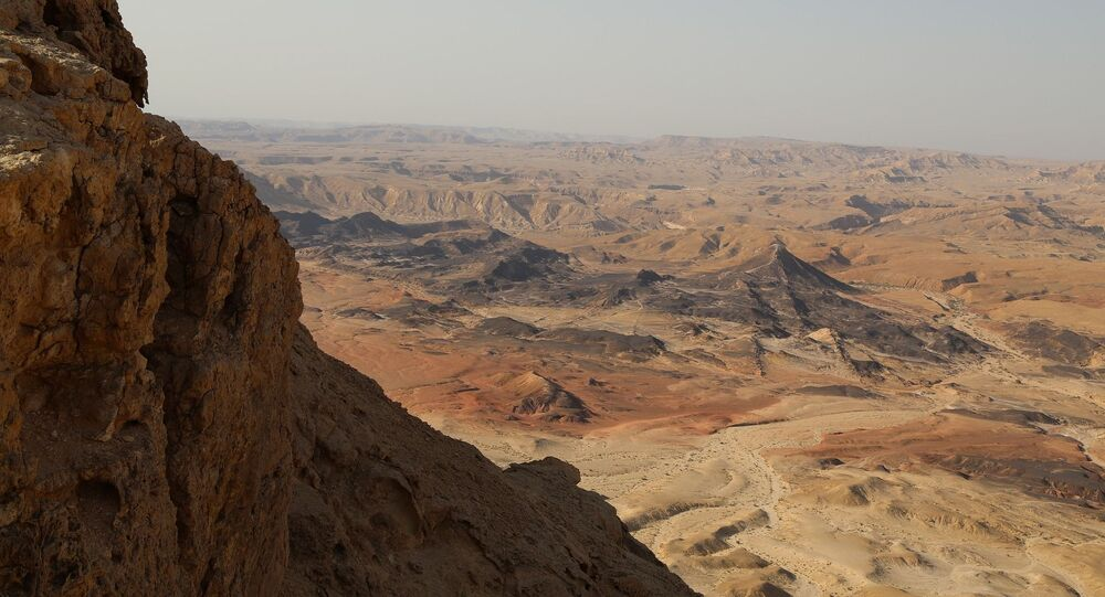 Deserto em Israel (imagem referencial)