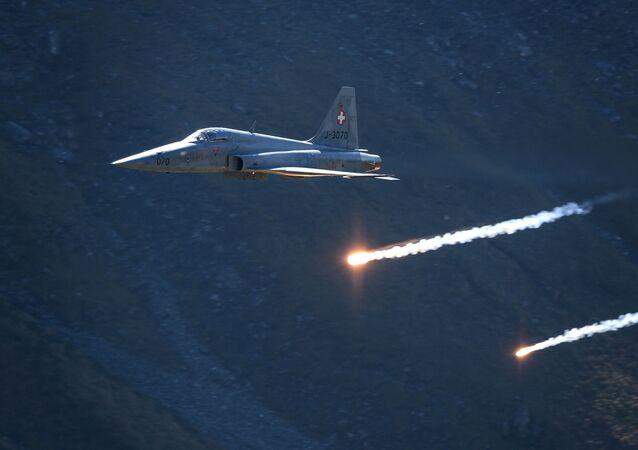 Caça F-5 da Força Aérea da Suíça