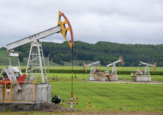 Extração de petróleo na Rússia (Tatarestão)