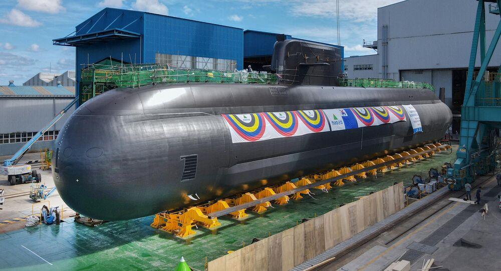 O lançamento do novo submarino, chamado Shin Chae-ho, em homenagem a um ativista pela independência coreana, ocorreu no estaleiro da Hyundai Heavy Industries Co., na cidade de Ulsan no sudeste do país, em 28 de setembro de 2021