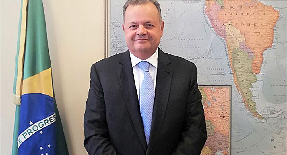 Rodrigo Baena Soares, embaixador brasileiro na Rússia
