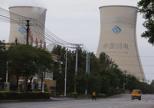 Usina a carvão em Shenyang, na província de Liaoning, China, 29 de setembro de 2021