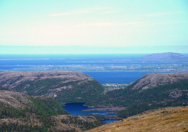 Condado de Trondelag na Noruega
